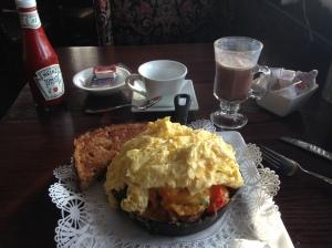 My Skillet Breakfast