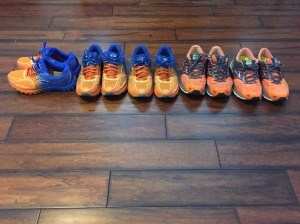 2 Years of Running Shoes; when I find something I like I stick with it!